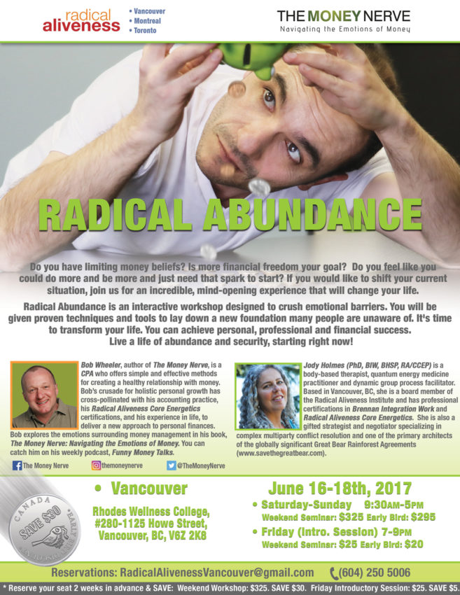 Radical Abundance @ Rhodes Wellness College | Vancouver | British Columbia | Canada